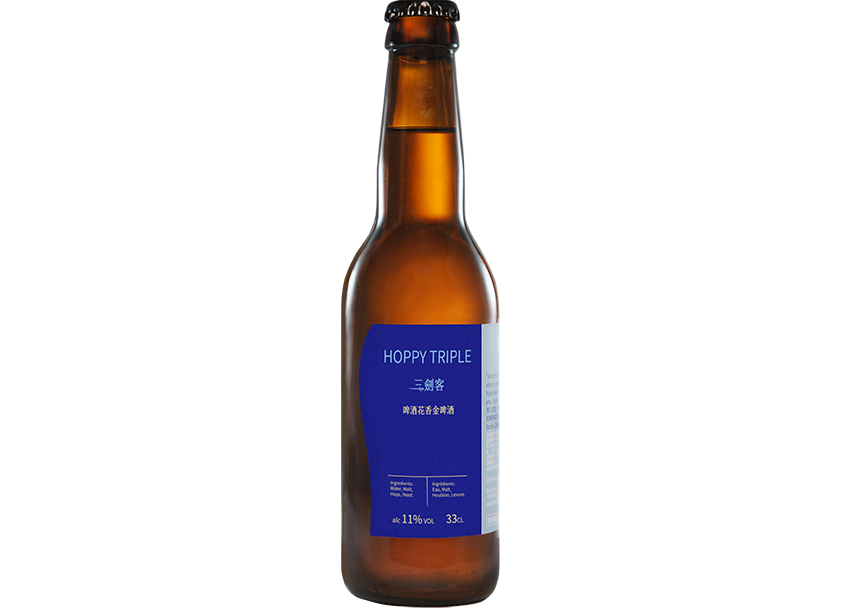 三劍客 – 啤酒花香金啤酒(HOPPY TRIPLE) – 11%