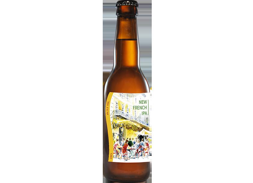 七里香-新法蘭西淡愛爾啤酒(NEW FRENCH IPA) – 5.5%