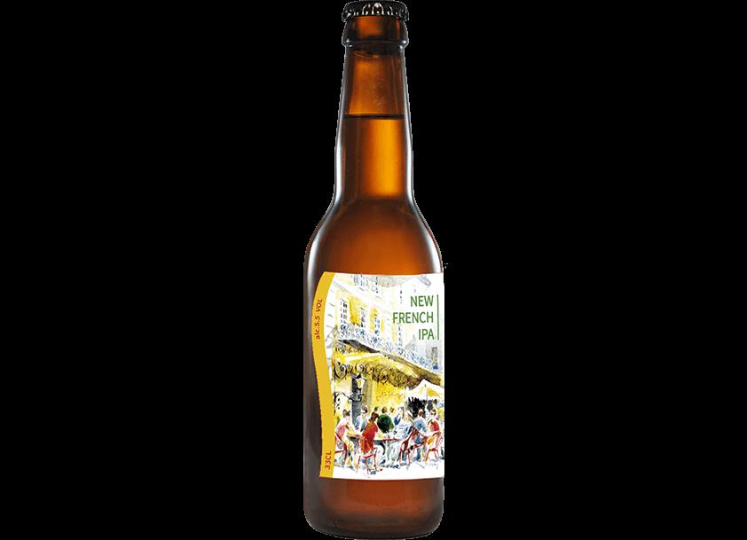 七里香-新法蘭西淡愛爾啤酒</br>(NEW FRENCH IPA) – 5.5%