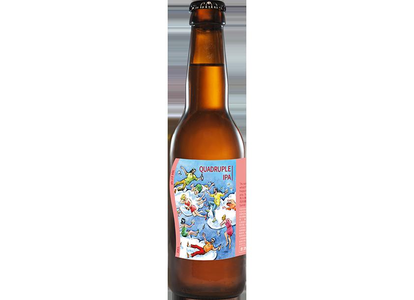 雲端之上-四倍麥芽印度淡愛爾啤酒(Quadruple IPA) – 12.7%