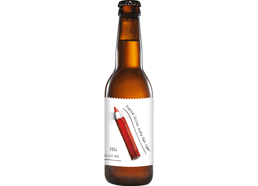 1+1=3~熱帶社交型印度淡拉格啤酒 </br>((Tropical Session India Pale Lager) – 5.5%